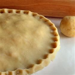 Mom's Pie Crust Recipe - The very first thing I learned how to cook!   This freezes beautifully; no well-equipped home is without a ball of pie dough in the freezer!  Guaranteed to roll!