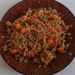 Monica's Vegetable Fried Rice