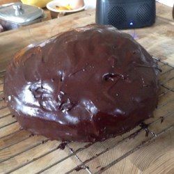 Easy Eggless Chocolate Cake