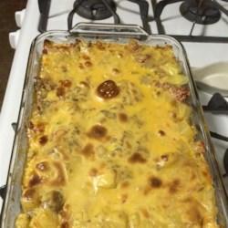 Beef Potato House Pie Casserole