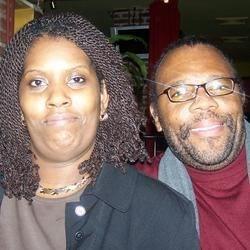 Monica and her husband Garry