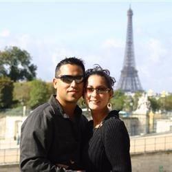 My Husband & I in Paris