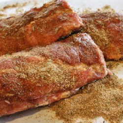 Jayme's Dry Rub Recipe - Brown sugar and cayenne work together to give a bit of sweetness and a bit of heat to this spice rub you can use on any meat.