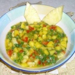 Mango Salsa with Pineapple