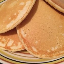 Pancakes from Scratch Recipe - Grandfather's recipe for pancakes from scratch produces thick and fluffy pancakes the whole family will love.