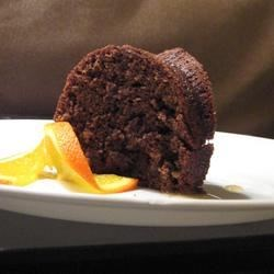 Zucchini Chocolate Orange Cake Recipe - A moist and delicious Bundt cake made with grated zucchini, cocoa powder, walnuts, and fresh orange zest.