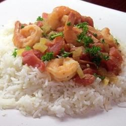 Shrimp Creole Pronto Recipe - Marsala Cooking Wine adds a distinctive flavor to this zesty main dish.