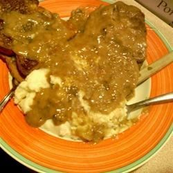 Comforting Cube Steaks Recipe - These steaks are wonderful and easy to make.  They also make their own gravy.  Wonderful served with rice.