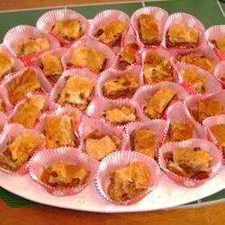 Baklava in Christmas Cupcake Liners