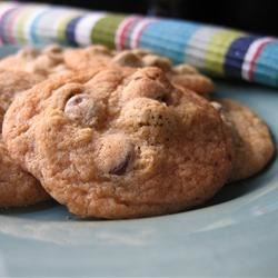 Anna's Chocolate Chip Cookies Recipe - This is a recipe my friends' mom gave me and I thought the cookies were excellent!
