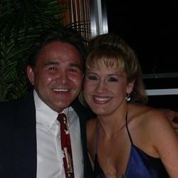 My sweetheart, Bob, and me in Boca Raton, FL
