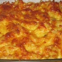 Creamy Mushroom Macaroni Pie