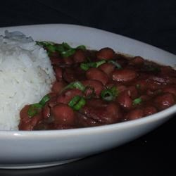 Authentic, No Shortcuts, Louisiana Red Beans and Rice Recipe - This is my take on a Louisiana classic.  No shortcuts!  Put everything into the slow cooker in the morning and you will have your meal ready in the late afternoon or evening, whenever you are ready.  This recipe will feed a lot of people.