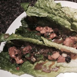 Chef John's Chicken Lettuce Wraps Recipe - Chef John's delicious take on P.F. Chang's(R) famous chicken lettuce wraps will have you making a meal of an appetizer!
