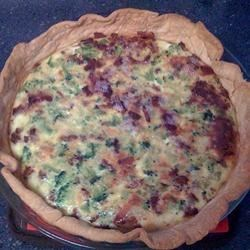 Quiche Recipe and Video - This is an easy ham and cheese quiche that can be made ahead of time. Directions for freezing are included in the recipe.