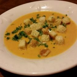 Caramelized Butternut Squash Soup