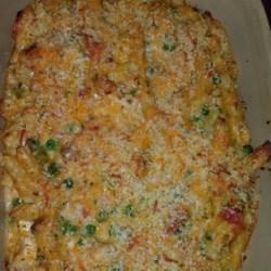 Pesto Chicken Penne Casserole