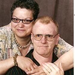 Isabel & Mark, my wonderful husband