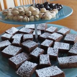 Cappuccino Cake Brownies Recipe - Get your coffee fix in brownie-form with this recipe for delectable cappuccino cake brownies.