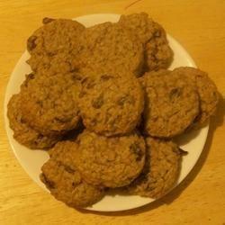"""soft oatmeal cookies"""