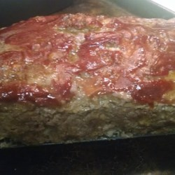 The Most Easy and Delish Meatloaf EVER! Recipe - This quick meatloaf requires no chopping whatsoever.