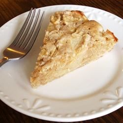 Fireman's Apple Pie Recipe - This pie makes its own crust.  No special preparations or bad crust problems.