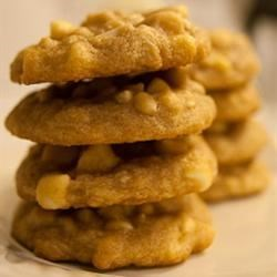 Macadamia Nut Chocolate Chip Cookies Recipe - Drop cookies with macadamia nuts and chocolate chips!