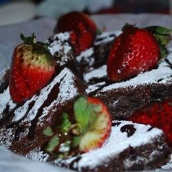 Strawberry Brownie Delights