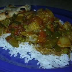 Easy Spicy Chicken Curry