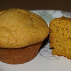 Sweet Potato Cream Muffins