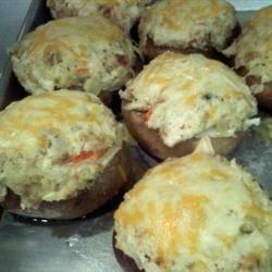 Gary's stuffed mushrooms recipe