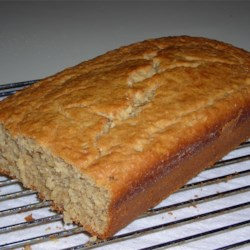 Buttermilk Oatmeal Bread Recipe - Oats give health benefits and a special taste to this quick bread that also invites additions such as raisins or currants and nuts.