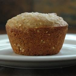 Millet Muffins Recipe - A lightly sweetened, extremely yummy muffin.