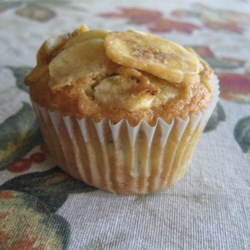 Banana Muffins with a Crunch