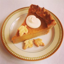 Chef John's Pumpkin Pie Recipe - This rich pumpkin pie includes sweetened condensed milk and egg yolks in the filling for the perfect custard texture.