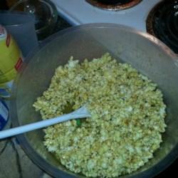 Caramel Popcorn with Marshmallow