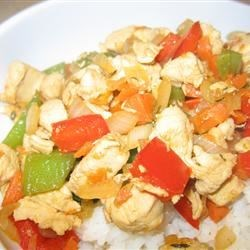 Tasty Chicken Recipe - A basic stir fry of chicken and vegetables with soy sauce and herbs proves that a minimalist approach can yield a tasty result.