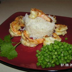 Citrus Shrimp Recipe - A light, healthy way to enjoy shrimp. A great summer dish. You can also throw the shrimps on a skewer and BBQ on the grill.