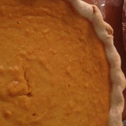 Sweet Potato Pie VI Recipe - Serve this pie with low-fat vanilla ice cream or yogurt for a cooling dessert!