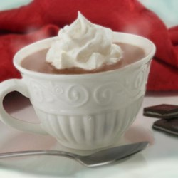 Thin Mint Cocoa Recipe - Peppermint and vanilla flavor this hot chocolate treat.