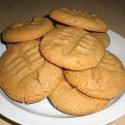 Football peanut butter cookies