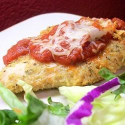 Simply Parmesan Chicken Recipe - Using Parmesan cheese gives a little more texture to breaded chicken.