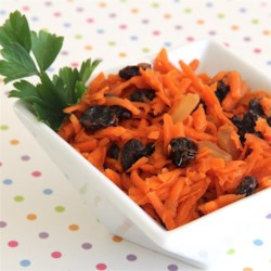 Carrot Salad with Ginger Recipe - Carrot salad welcomes the addition of ginger in this quick and easy recipe that's sure to become a staple at your table.