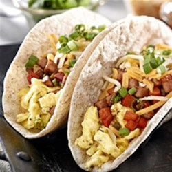 Easy Egg Tacos Recipe - Serve these fun and easy tacos with your favourite toppings for the full taco treatment that kids love.