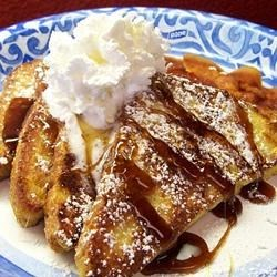Caramelized French Toast Recipe - My family loves it when I make this variation of French toast that my grandma once made for me. It's a GREAT substitute for sticky cinnamon rolls and a lot less hassle ... ENJOY!