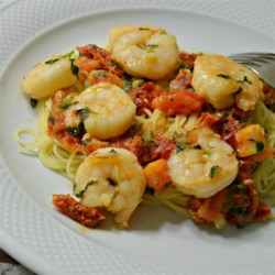 Cilantro and Parsley Shrimp