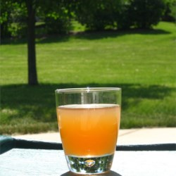 Almond Tea Recipe - Iced tea is flavored with lemonade, vanilla and almond. This beverage is a wonderful Summer treat that pleases all!  Great for parties or just to have on hand.