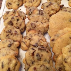German Rocks Recipe - A heavy cookie with dates and nuts. Derived from Bavarian Inn, Frankenmuth, Michigan.
