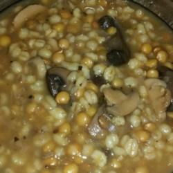 Mushroom Lentil Barley Stew