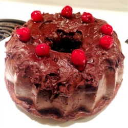 Quick Black Forest Cake Recipe - This version of Black Forest cake gets you an easy, delicious, and moist cake by using cherry pie filling and devil's food cake mix.